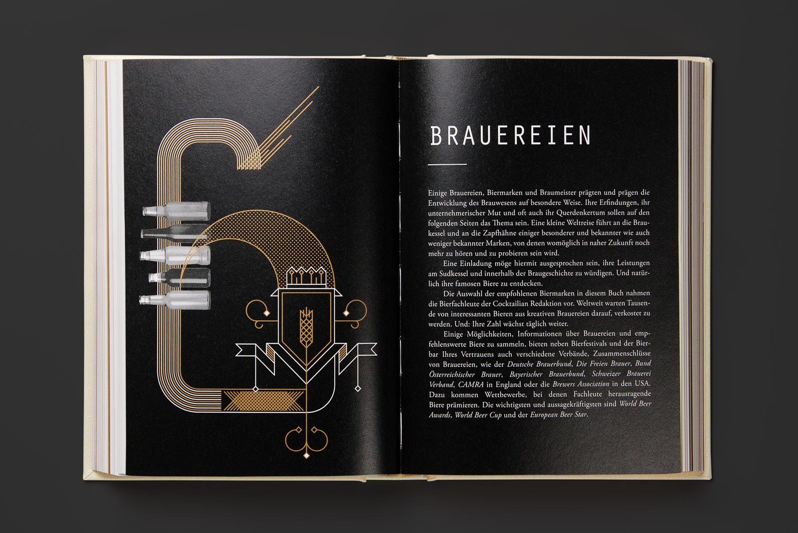 Editienne Grafikdesign - Kommunikationsdesign Berlin- Buchgestaltung Cocktailian 3- Bier&Craft 40