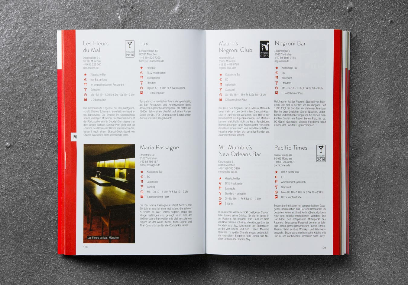 Editienne Grafikdesign - Kommunikationsdesign Berlin- Buchgestaltung Bar Guide 2016 12
