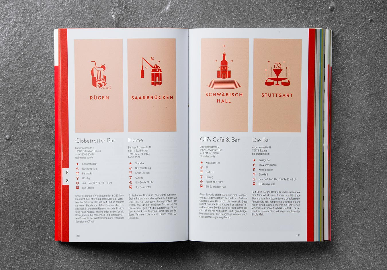 Editienne Grafikdesign - Kommunikationsdesign Berlin- Buchgestaltung Bar Guide 2016 13