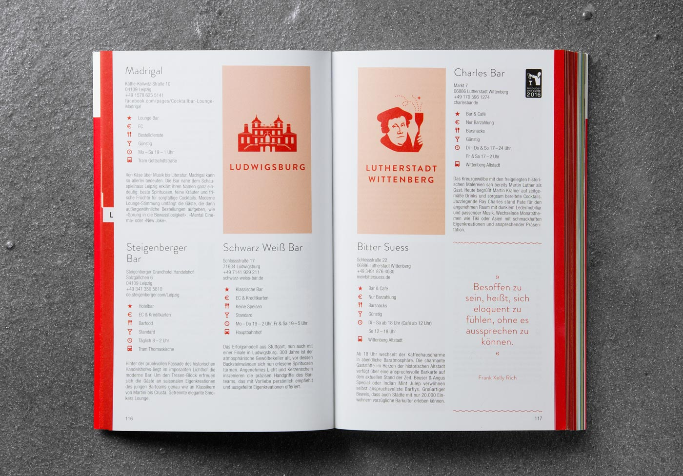 Editienne Grafikdesign - Kommunikationsdesign Berlin- Buchgestaltung Bar Guide 2016 18