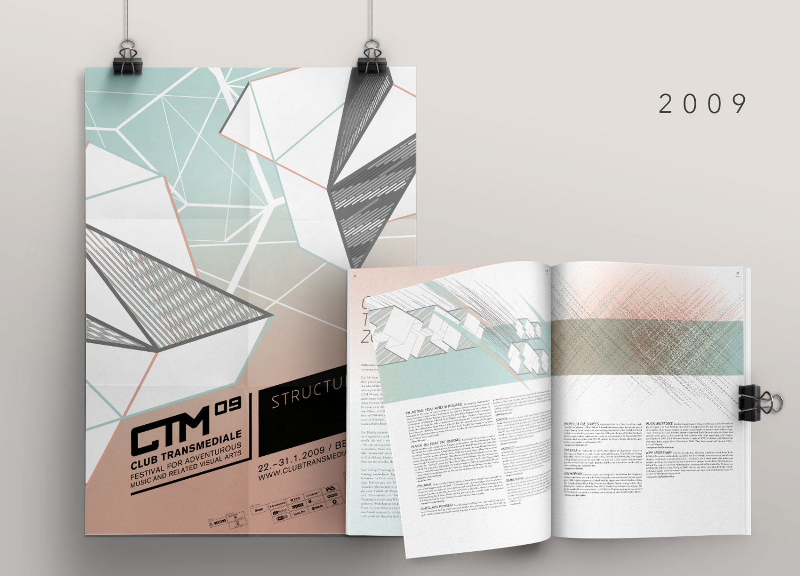 Editienne Grafikdesign - Kommunikationsdesign Berlin- CTM Festival- Corporate Identity und Editorial Design 6