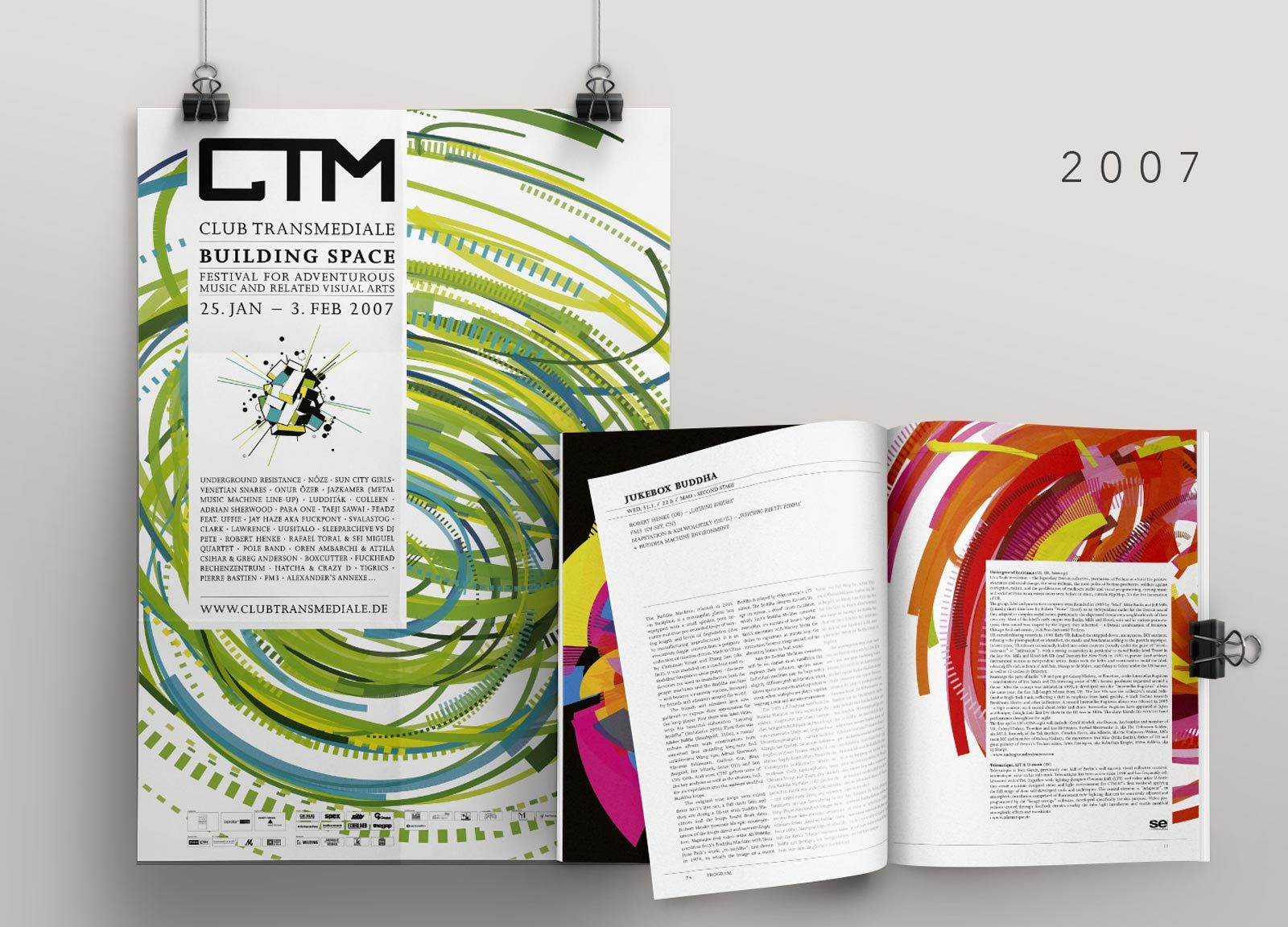 Editienne Grafikdesign - Kommunikationsdesign Berlin- CTM Festival- Corporate Identity und Editorial Design 4