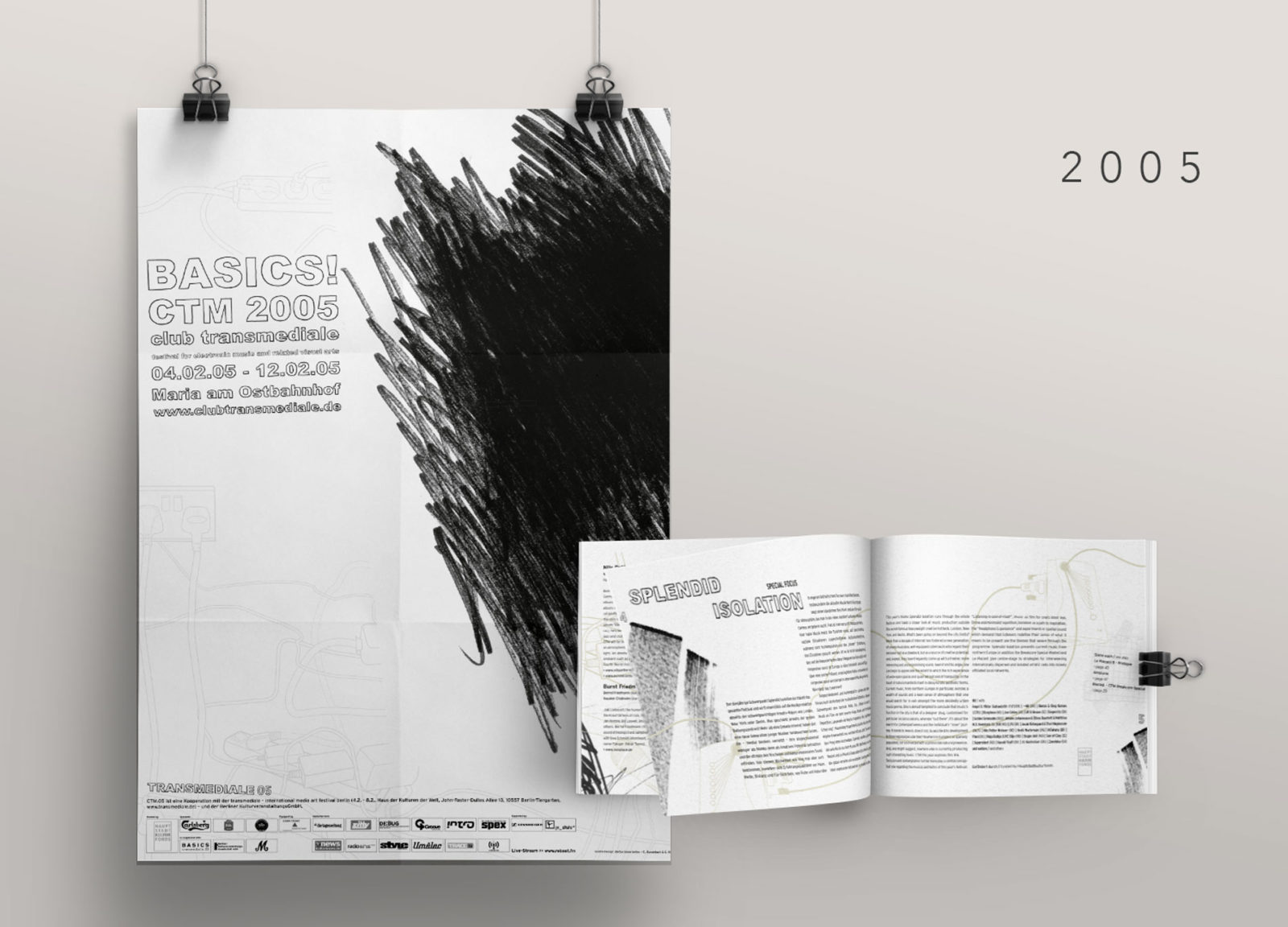Editienne Grafikdesign - Kommunikationsdesign Berlin- CTM Festival- Corporate Identity und Editorial Design 2