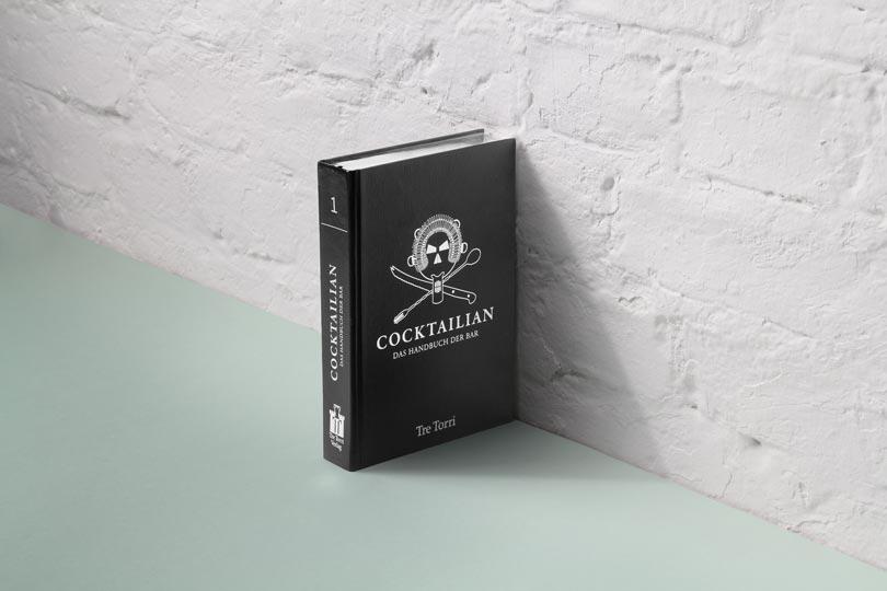editienne Kommunikationsdesign- Digramm- Cocktailian- Buchgestaltungskonzept der Cocktailian Reihe