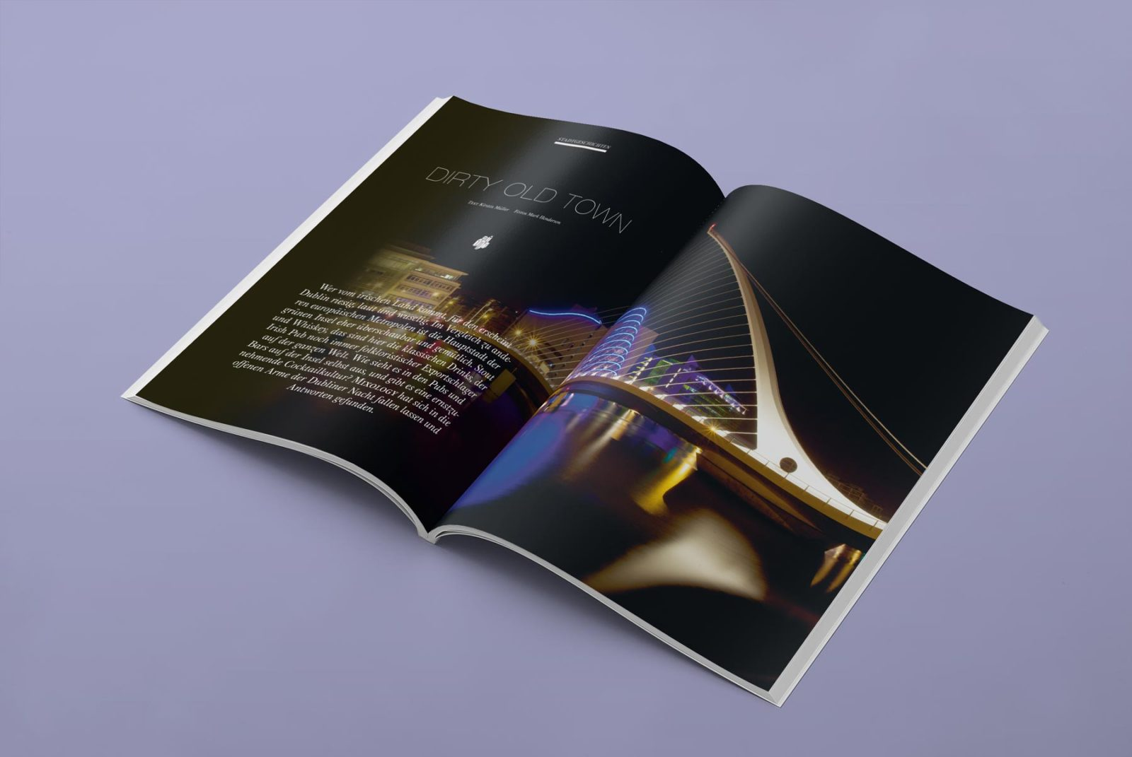 Editienne Grafikdesign - Kommunikationsdesign Berlin- Editorial Design Mixology Magazine 31