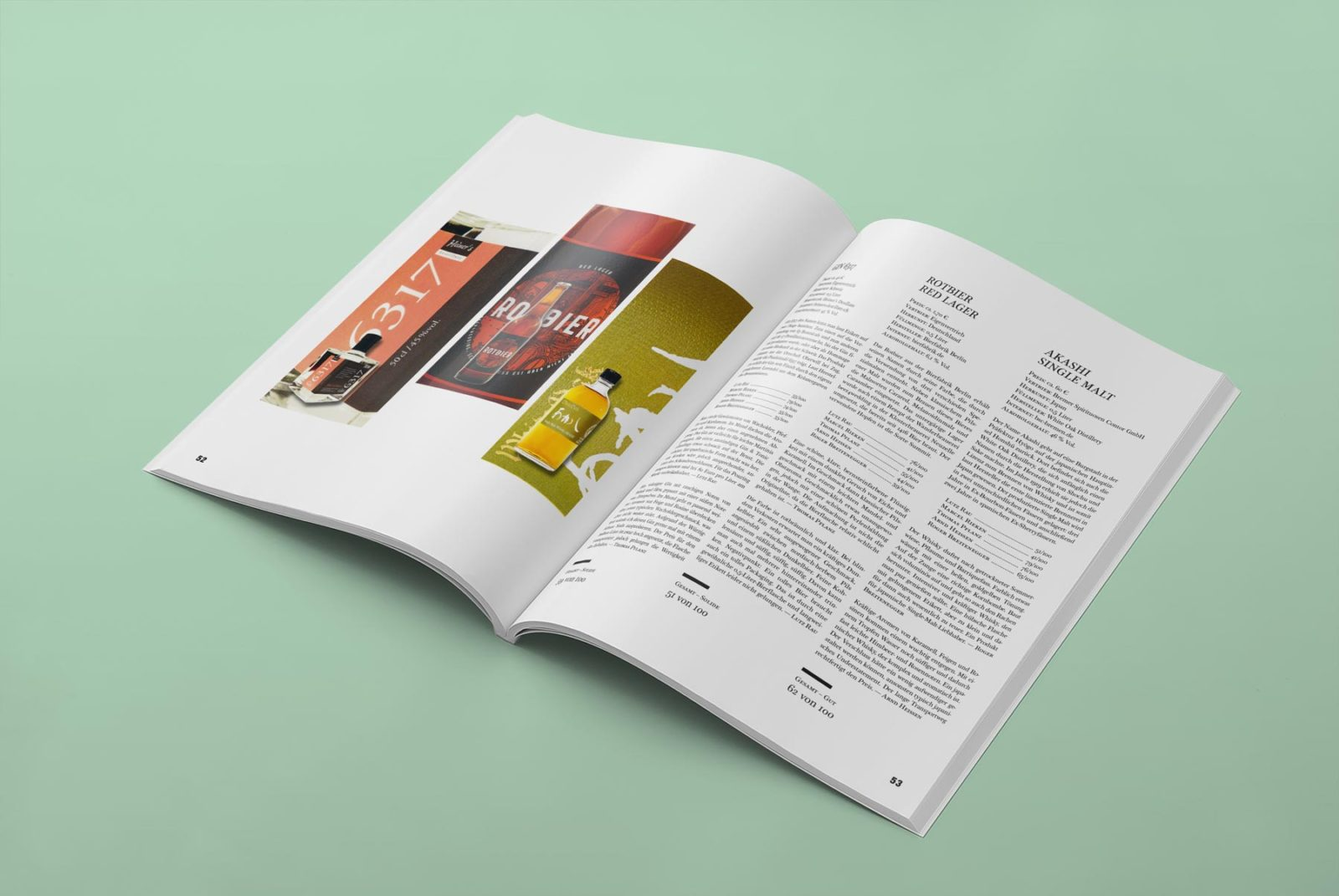 Editienne Grafikdesign - Kommunikationsdesign Berlin- Editorial Design Mixology Magazine 32