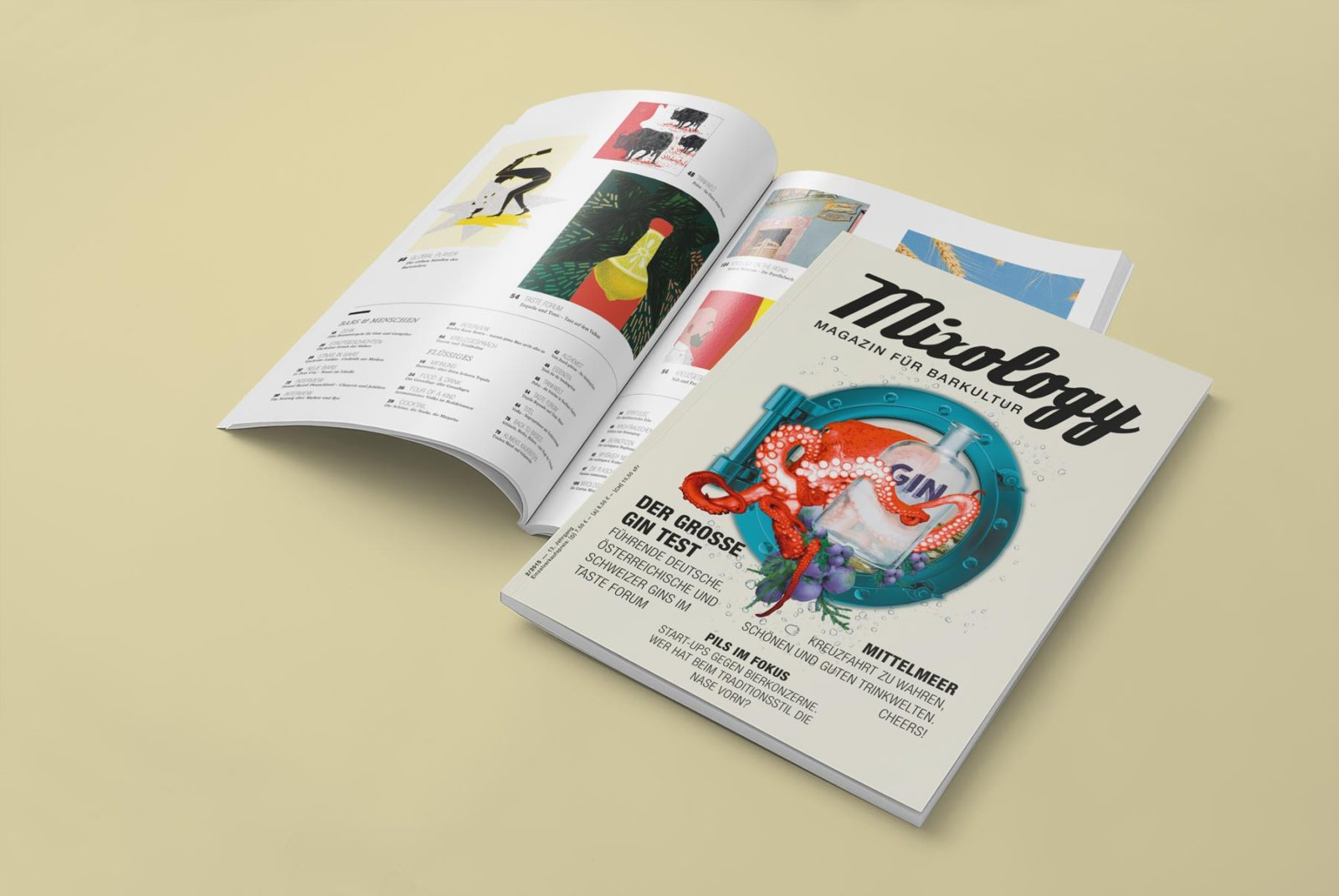 Editienne Grafikdesign - Kommunikationsdesign Berlin- Editorial Design Mixology Magazine 35