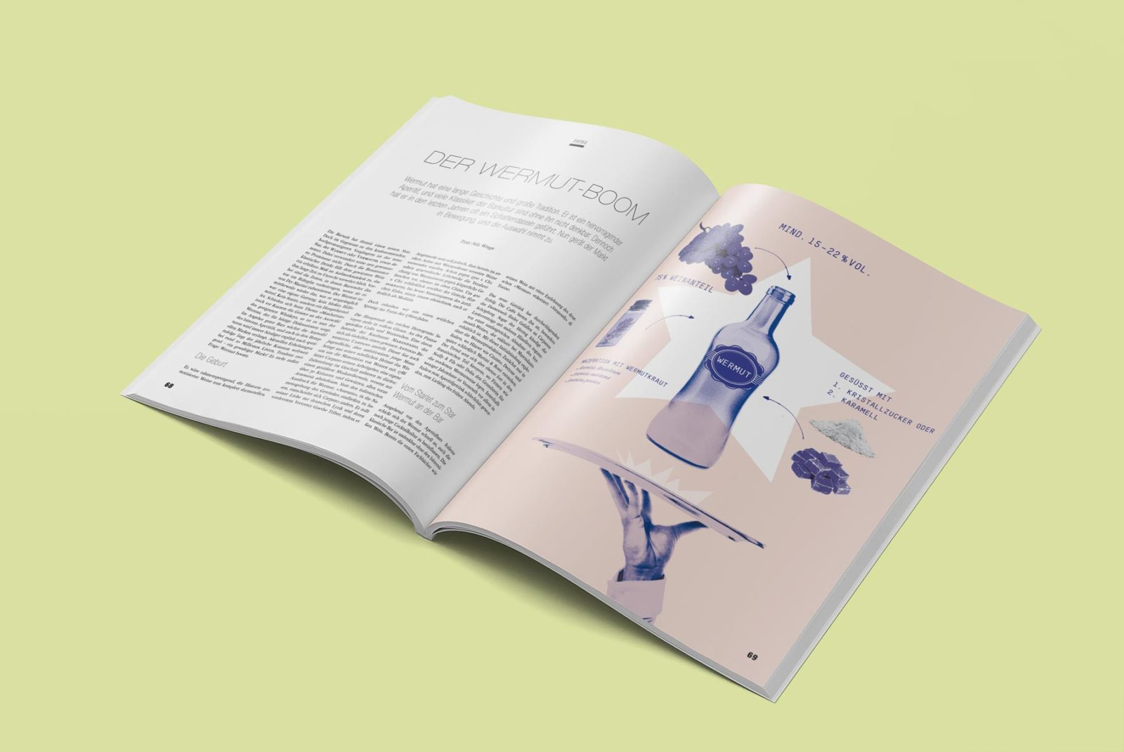Editienne Grafikdesign - Kommunikationsdesign Berlin- Editorial Design Mixology Magazine 36