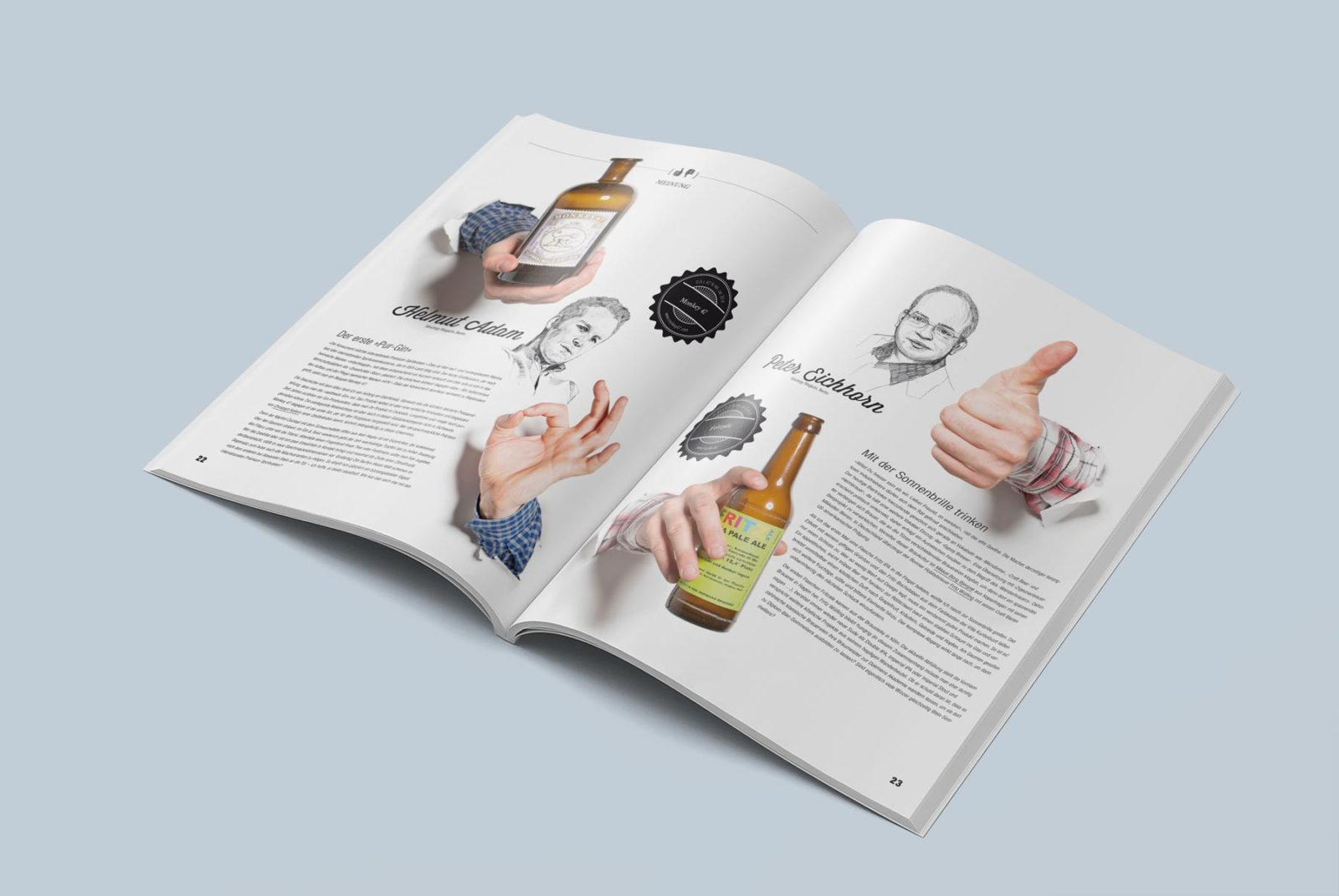 Editienne Grafikdesign - Kommunikationsdesign Berlin- Editorial Design Mixology Magazine 37
