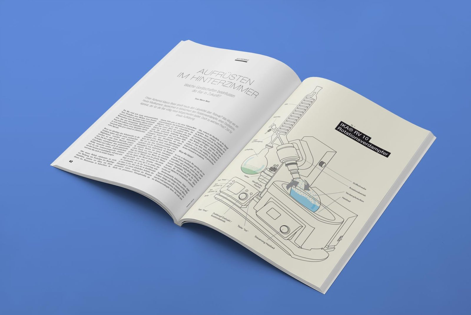 Editienne Grafikdesign - Kommunikationsdesign Berlin- Editorial Design Mixology Magazine 38