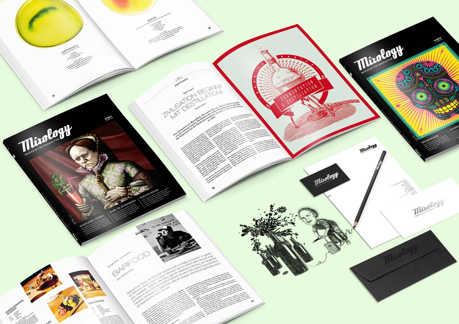 Editienne Grafikdesign - Kommunikationsdesign Berlin- Editorial Design Mixology Magazine 39