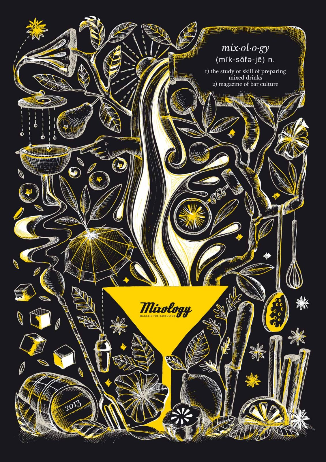 Editienne Grafikdesign - Kommunikationsdesign Berlin- Editorial Design Mixology Magazine 42