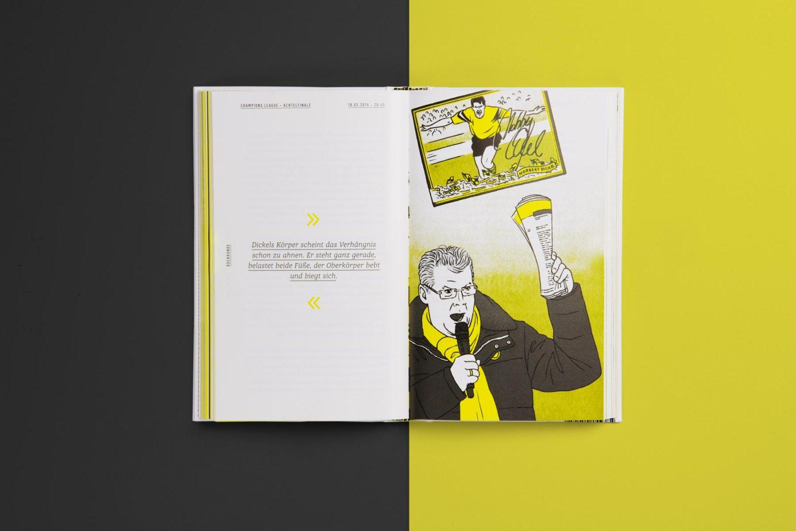 Editienne Grafikdesign - Kommunikationsdesign Berlin- Buchcoverdesign und Buchgestaltung Borussia Dortmund- BVB Buch 11