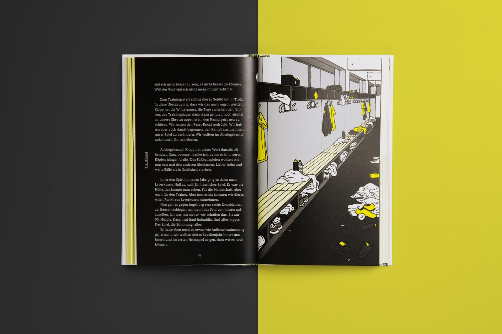 Editienne Grafikdesign - Kommunikationsdesign Berlin- Buchcoverdesign und Buchgestaltung Borussia Dortmund- BVB Buch 15