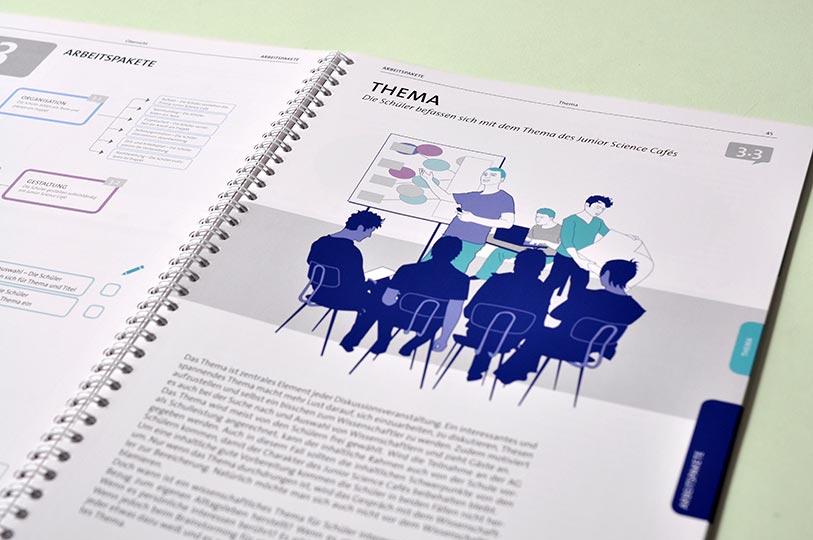 Editienne Grafikdesign - Kommunikationsdesign Berlin- Corporate Publishing Editorial Design Wissenschaft im Dialog 10.1