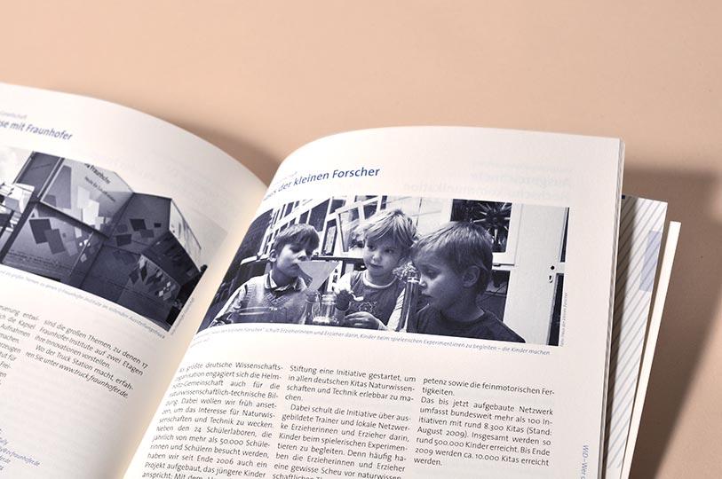 Editienne Grafikdesign - Kommunikationsdesign Berlin- Corporate Publishing Editorial Design Wissenschaft im Dialog 13