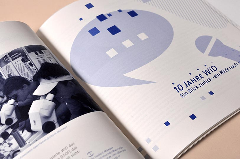 Editienne Grafikdesign - Kommunikationsdesign Berlin- Corporate Publishing Editorial Design Wissenschaft im Dialog 14