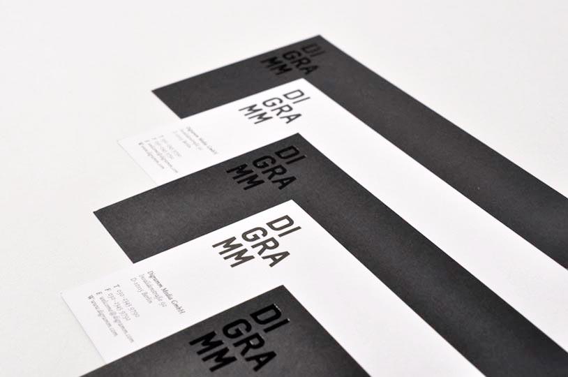 editienne Kommunikationsdesign- Digramm- Corporate Identity Logo Design