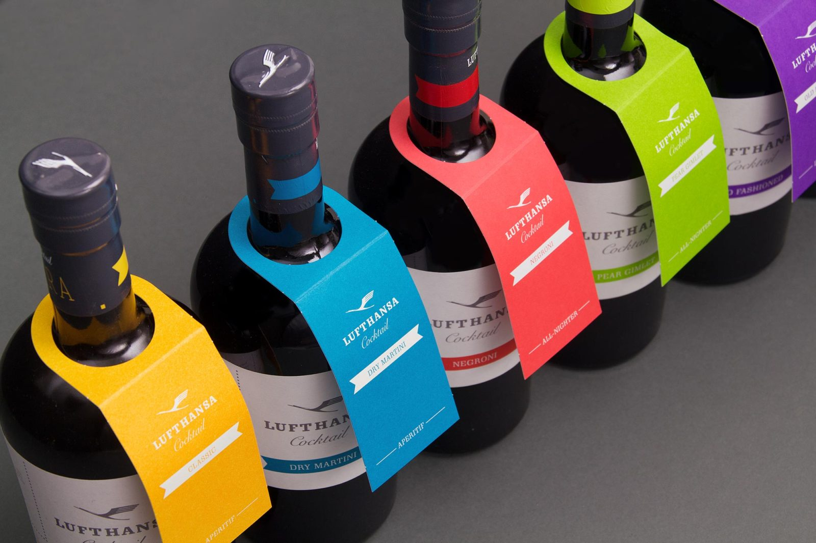 Editienne Grafikdesign - Kommunikationsdesign Berlin- Packaging Design- Spreewood Distillers- Lufthansa Cocktail 21