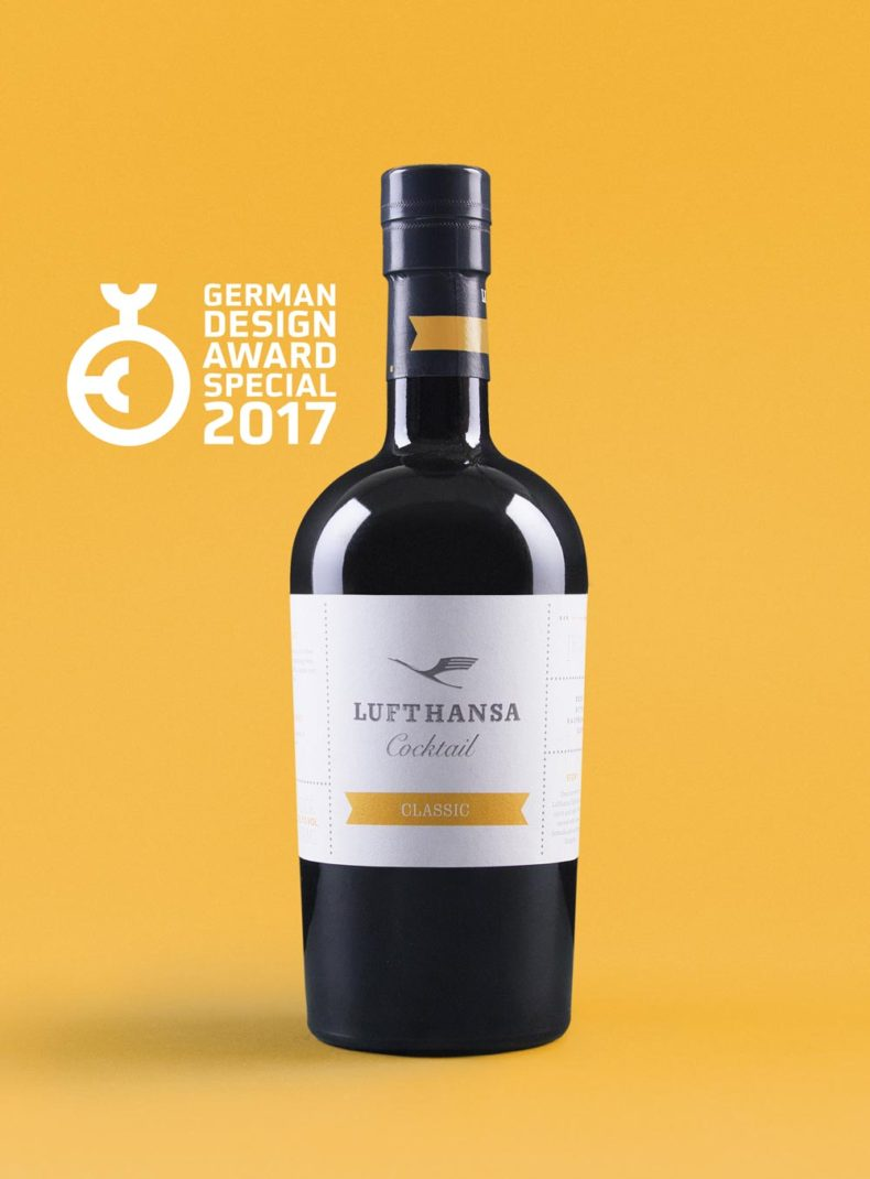 Editienne Grafikdesign - Kommunikationsdesign Berlin- Packaging Design- Spreewood Distillers- Lufthansa Cocktail German Design Award 2017