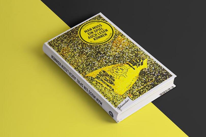 editienne Kommunikationsdesign- Ein schwarzgelbes Jahr- Coverdesign und Buchgestaltung