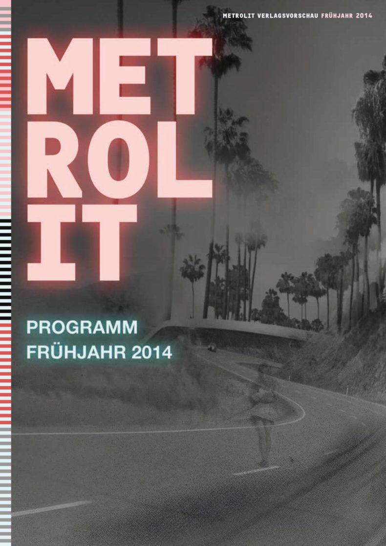 Editienne Grafikdesign - Kommunikationsdesign Berlin- Editorial Design Buchvorschaugestaltung Metrolit Magazin 12