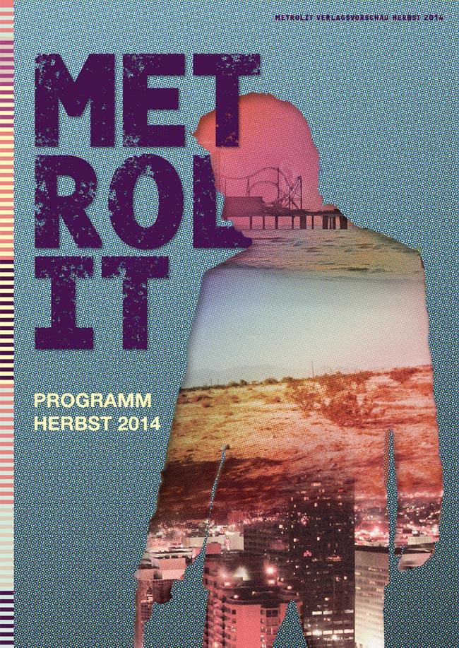 Editienne Grafikdesign - Kommunikationsdesign Berlin- Editorial Design Buchvorschaugestaltung Metrolit Magazin 14
