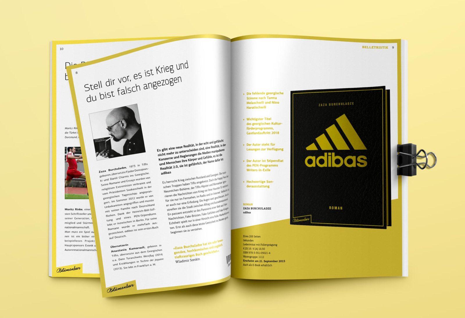 Editienne Grafikdesign - Kommunikationsdesign Berlin- Editorial Design Buchvorschaugestaltung Metrolit Magazin 19