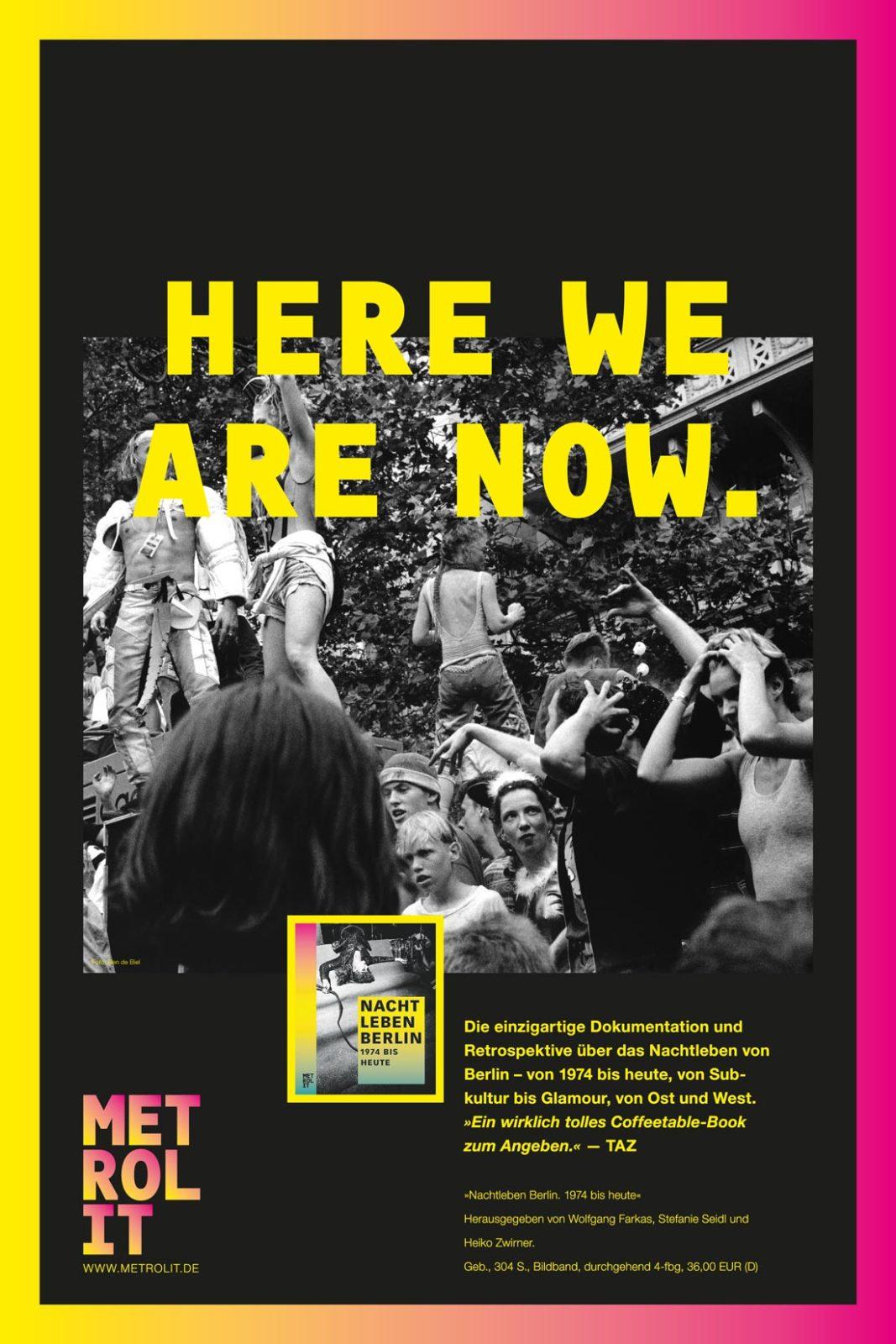 Editienne Grafikdesign - Kommunikationsdesign Berlin- Editorial Design Buchvorschaugestaltung Metrolit Magazin 21