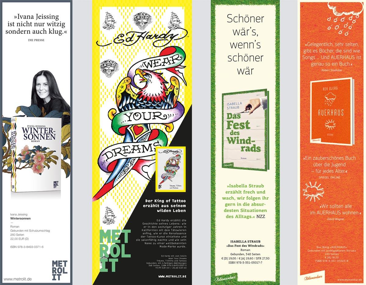 Editienne Grafikdesign - Kommunikationsdesign Berlin- Editorial Design Buchvorschaugestaltung Metrolit Magazin 22