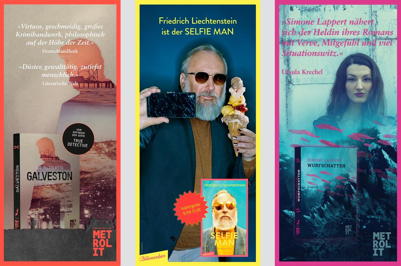 Editienne Grafikdesign - Kommunikationsdesign Berlin- Editorial Design Buchvorschaugestaltung Metrolit Magazin 23