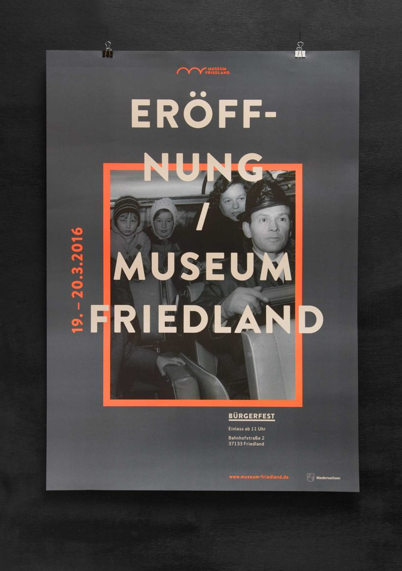 Editienne Grafikdesign - Kommunikationsdesign Berlin- Corporate Identity Design Museum Friedland 28