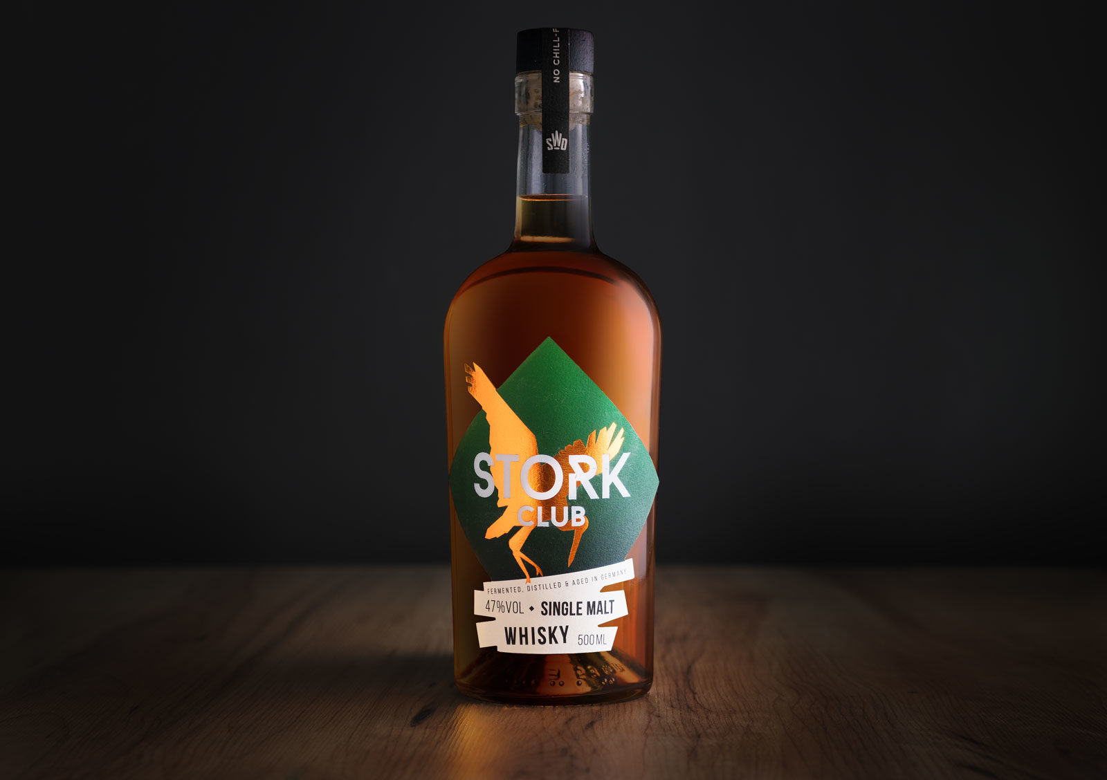 Editienne Grafikdesign - Kommunikationsdesign Berlin- Packaging Design- Stork Club Whisky