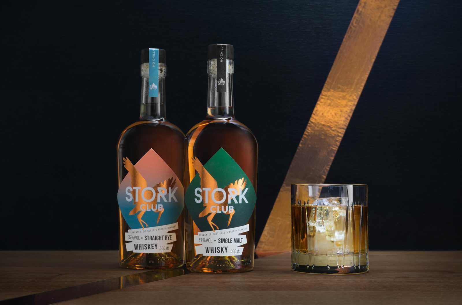 Editienne Grafikdesign - Kommunikationsdesign Berlin- Packaging Design- Spreewood Distillers- Stork Club Whisky 18