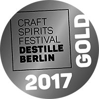 Editienne Grafikdesign - Kommunikationsdesign Berlin- Craft Spirits Festival Destille Berlin Medaille GOLD