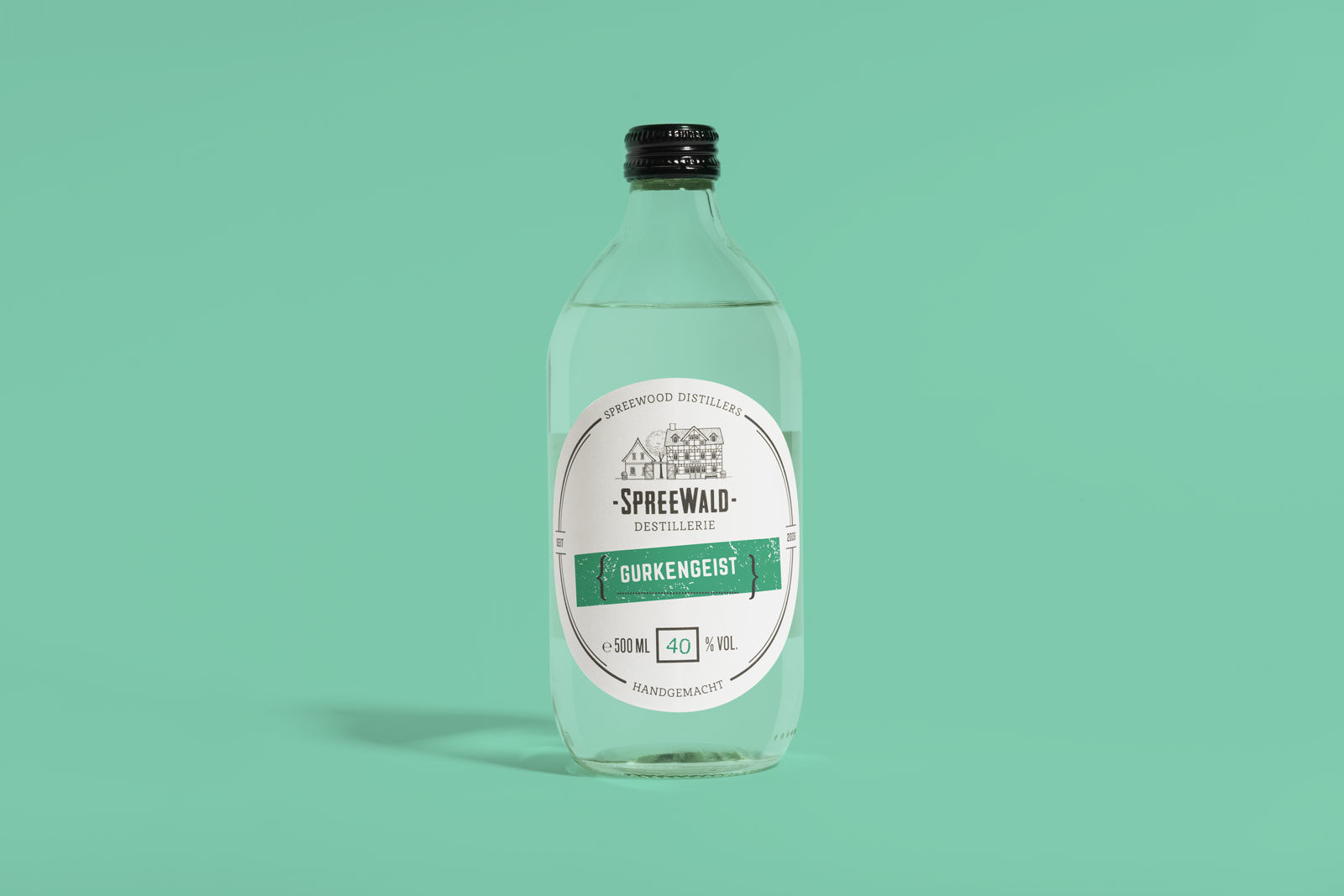 Editienne Grafikdesign - Kommunikationsdesign Berlin- Beverage Packaging Design- Spreewood Distillers