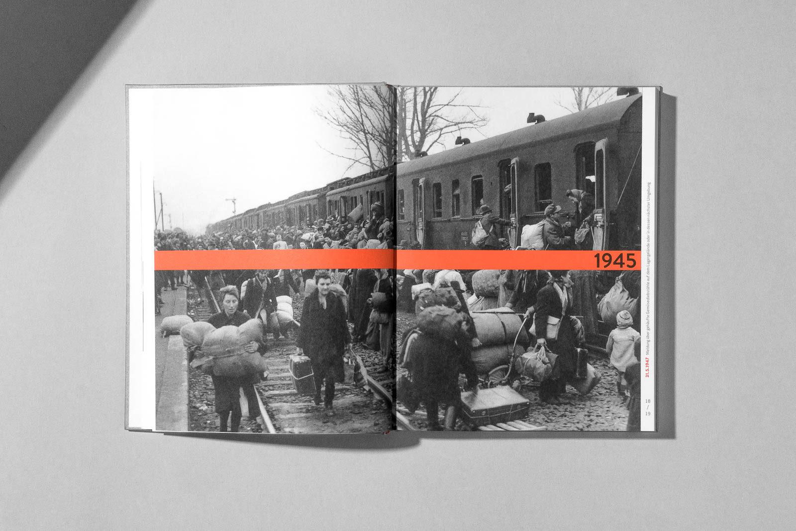 Editienne Kommunikationsdesign- Buchgestaltung für den Ausstellungskatalog 5