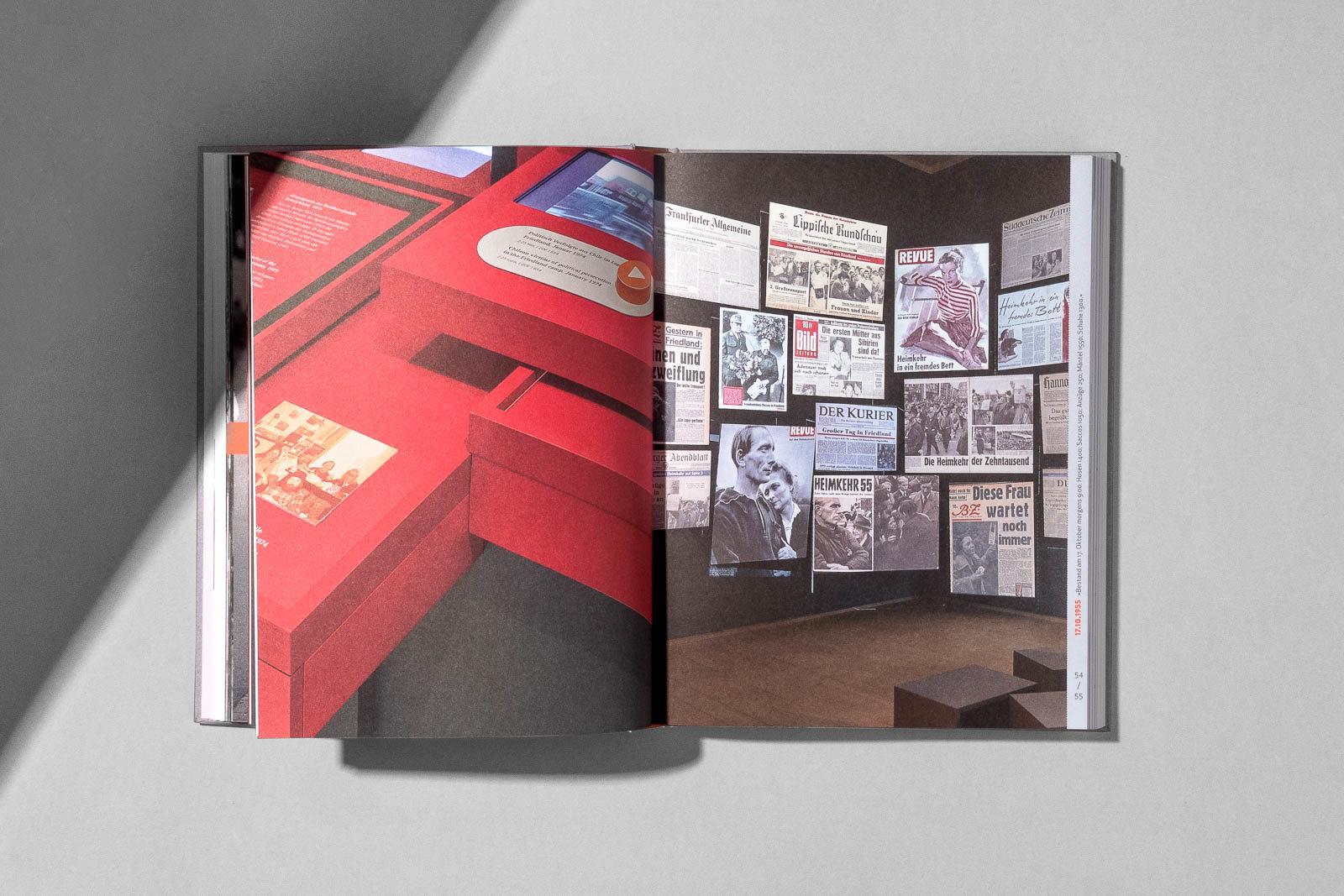 Editienne Kommunikationsdesign- Buchgestaltung für den Ausstellungskatalog 8