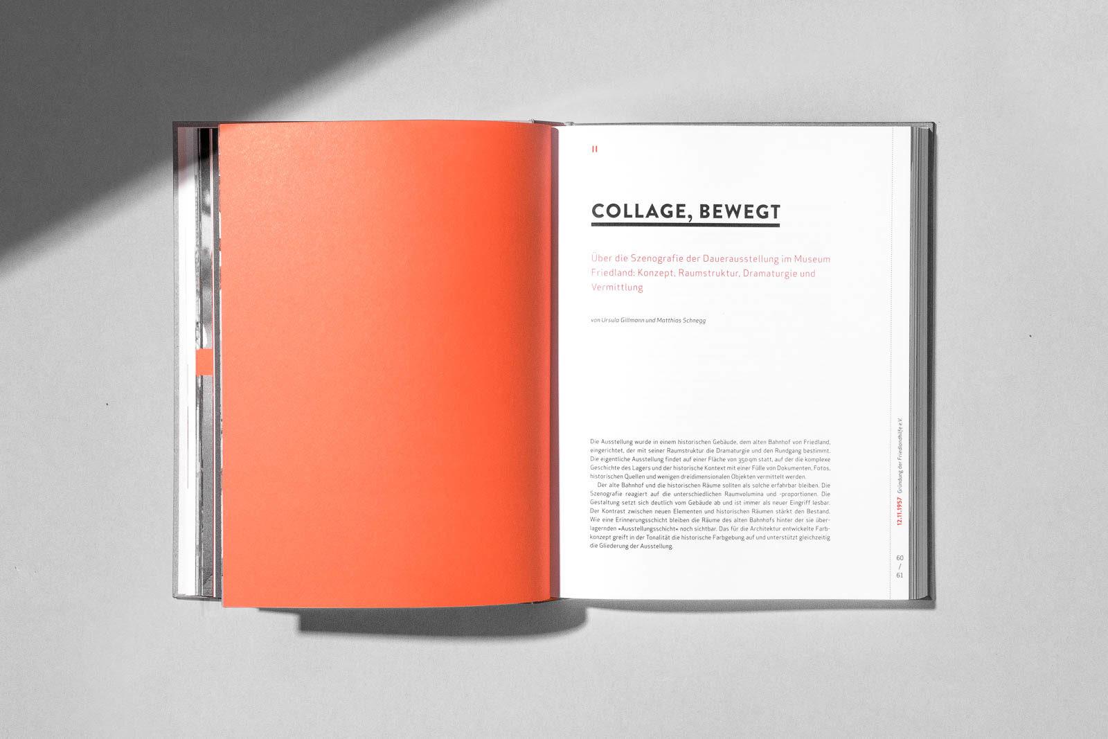 Editienne Kommunikationsdesign- Buchgestaltung für den Ausstellungskatalog 9