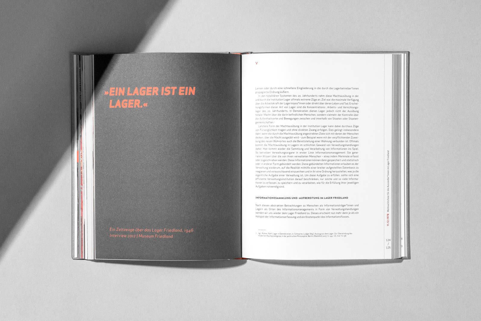 Editienne Kommunikationsdesign- Buchgestaltung für den Ausstellungskatalog 12