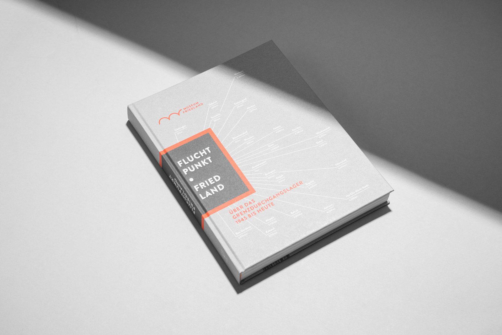 Editienne Grafikdesign - Kommunikationsdesign Berlin-Buchgestaltung für den Ausstellungskatalog, Editorial Design- Museum Friedland 13