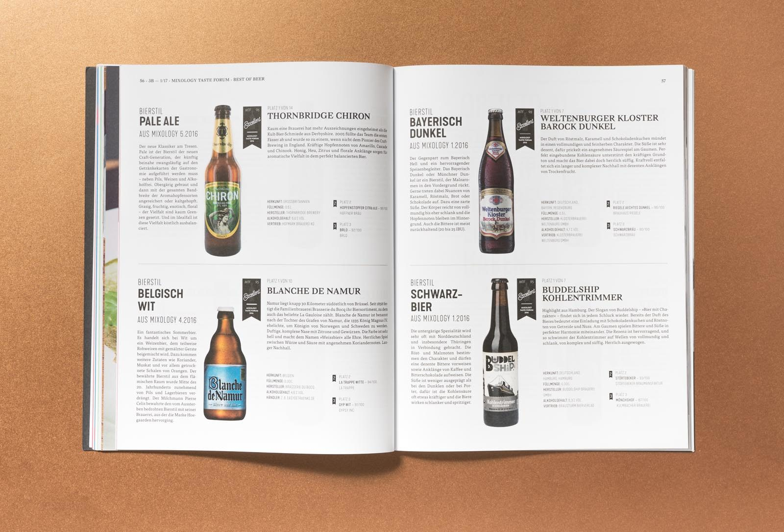 Editienne Grafikdesign - Kommunikationsdesign Berlin-Editorial Design Bier Bars und Brauer Magazin 12