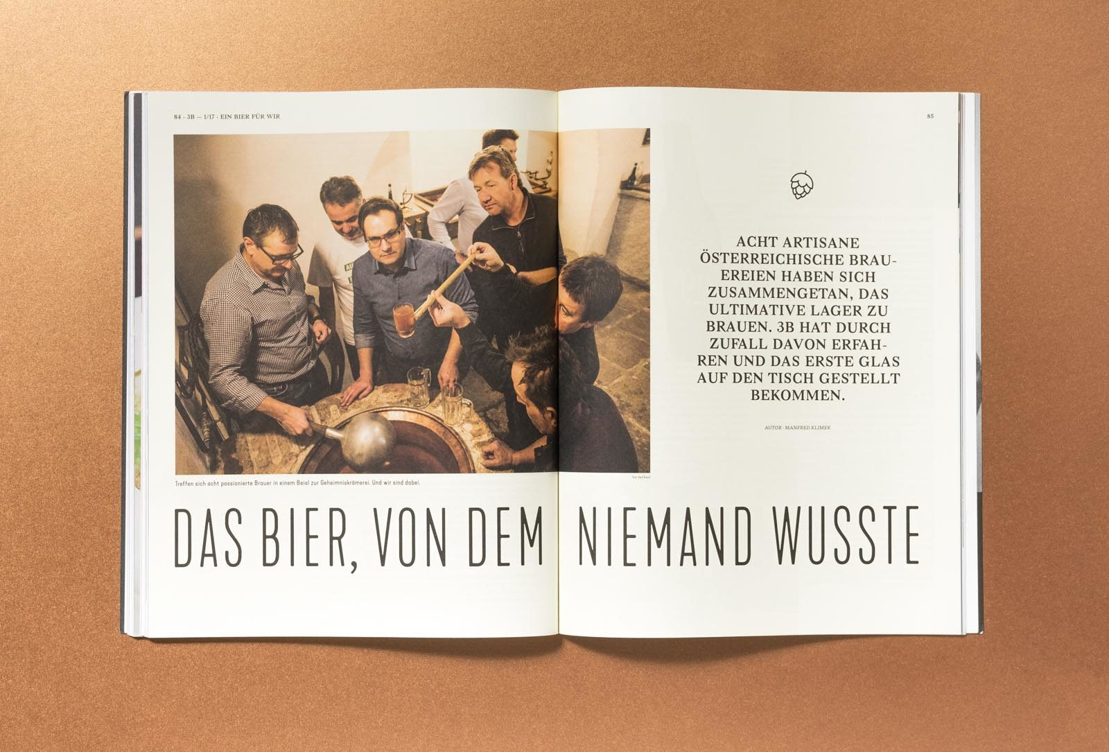 Editienne Grafikdesign - Kommunikationsdesign Berlin-Editorial Design Bier Bars und Brauer Magazin 6