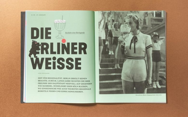 Editorial Design und Art Direktion für Biers, Bars und Brauer, dem Magzin für Bier