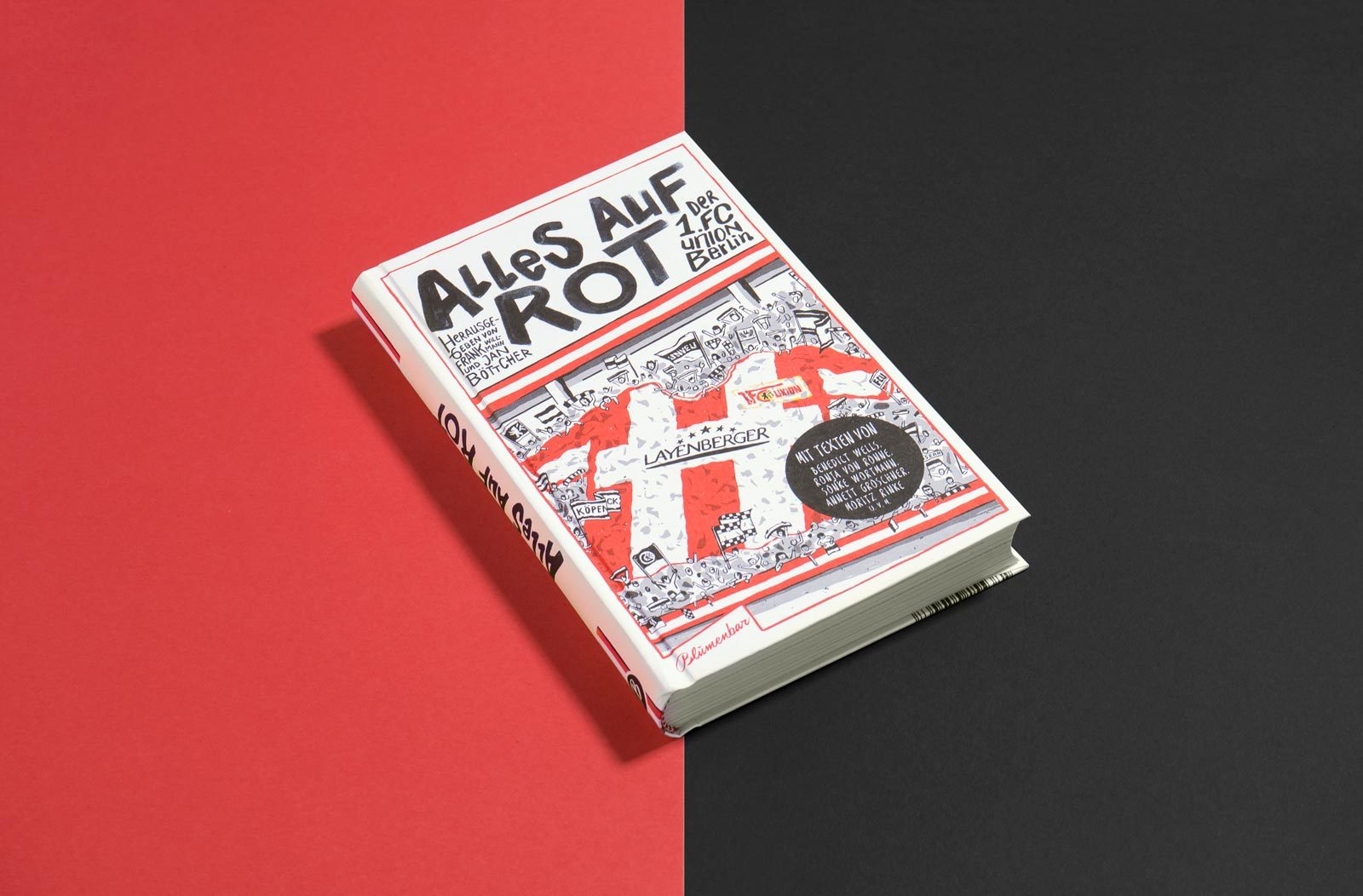 Editienne Grafikdesign - Kommunikationsdesign Berlin- Buchgestaltung und Coverdesign- Alles steht auf Rot 1