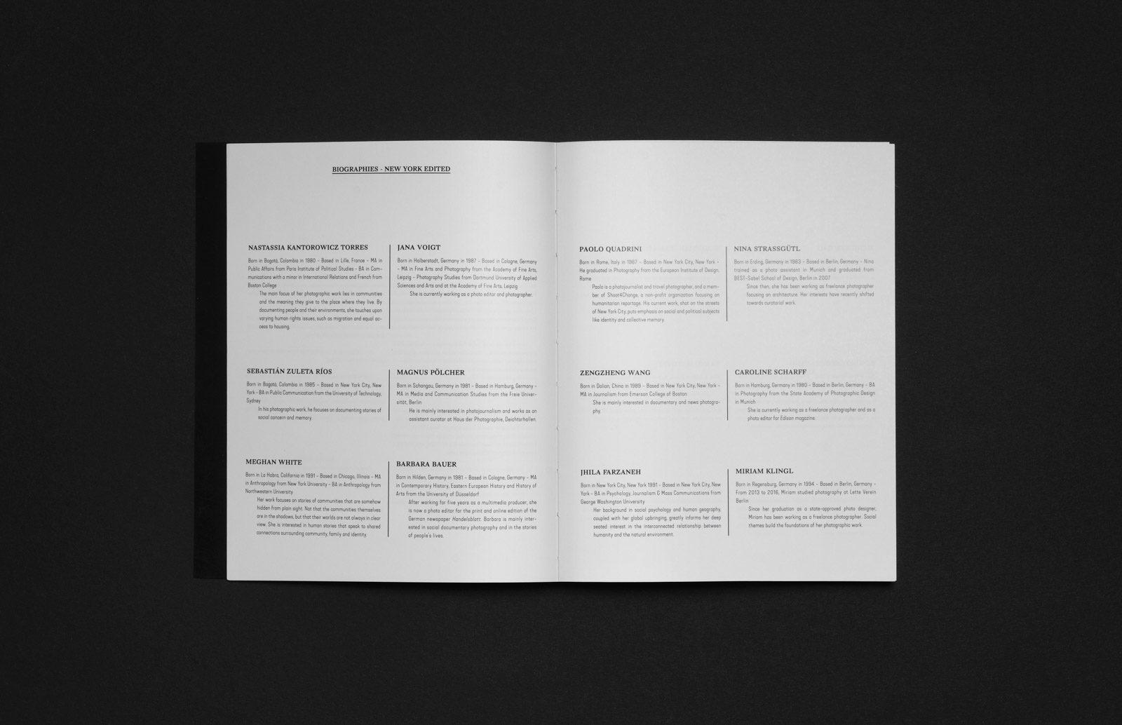 Editienne Grafikdesign - Kommunikationsdesign Berlin- Buchgestaltung und Coverdesign Fotobuch Out of Place 11