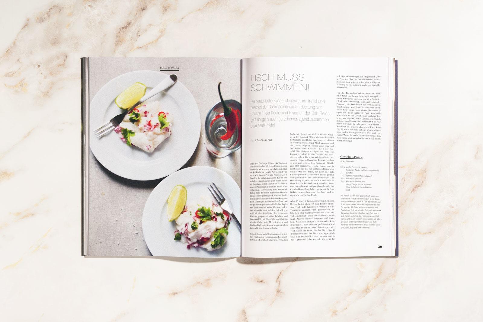 Editorial Design und Art Direktion für Mixology, dem Magazin für Barkultur