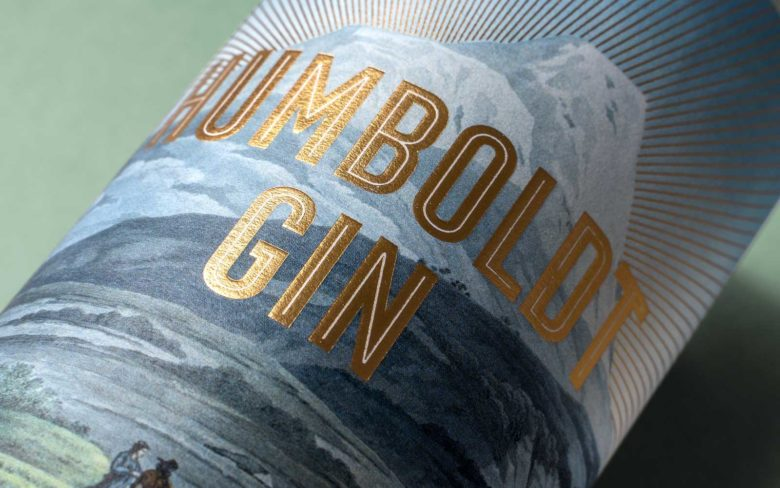 Editienne Kommunikationsdesign — Packaging Design Alexander von Humboldt Gin