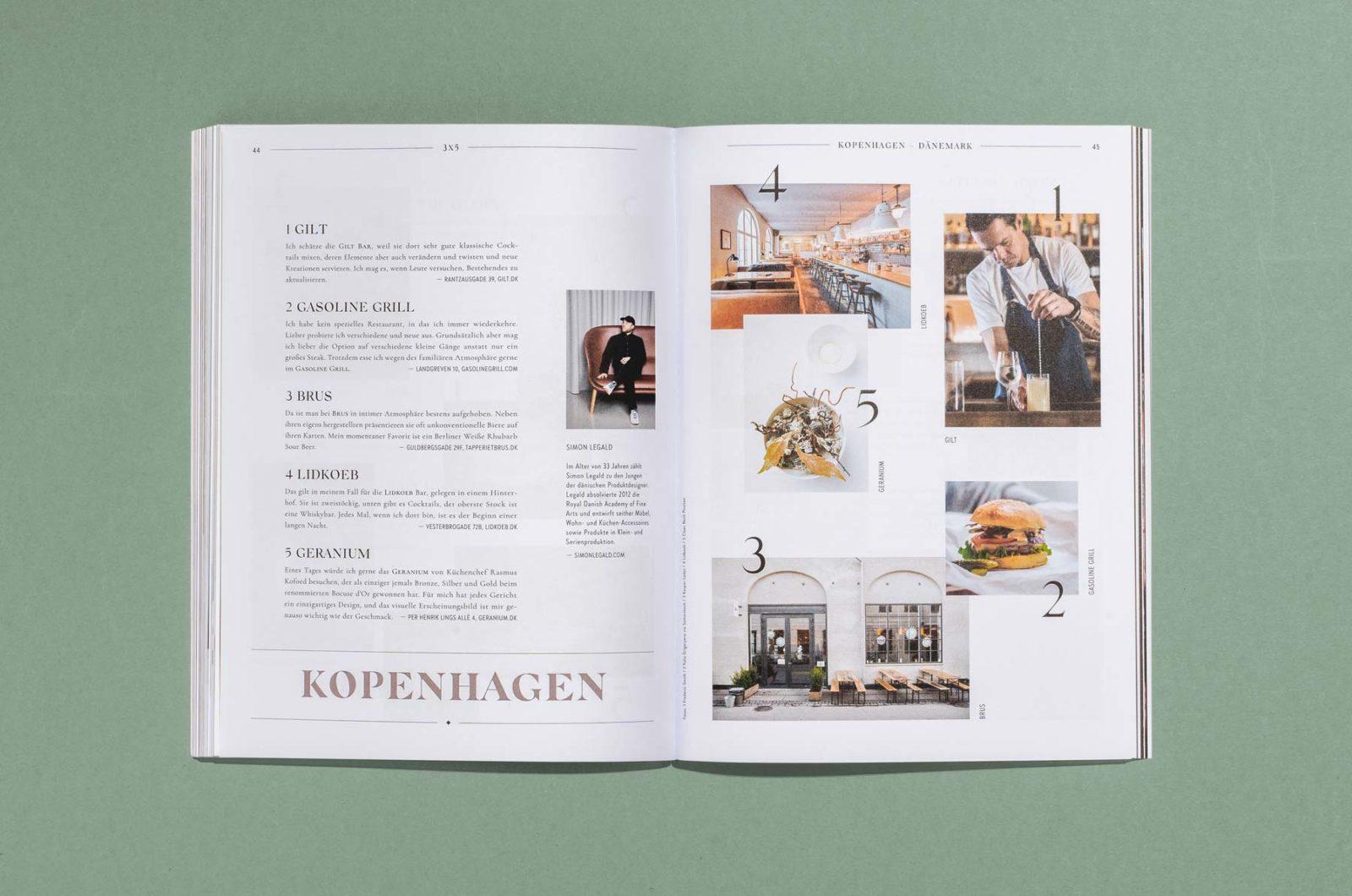 Editorial Design für Cocktailian Bookazin aus dem Mixology Verlag