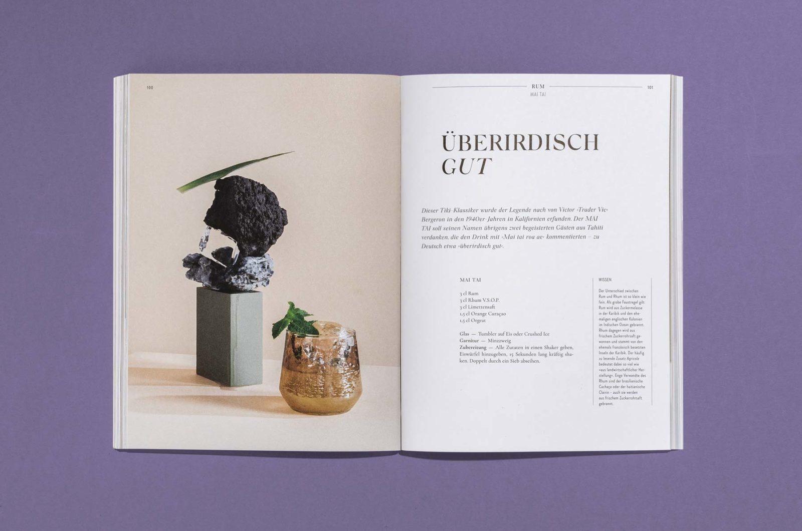 Editorial Design für Cocktailian Bookazin